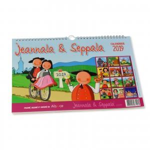Calendrier 2019 Jeannala & Seppala 32x22 cm
