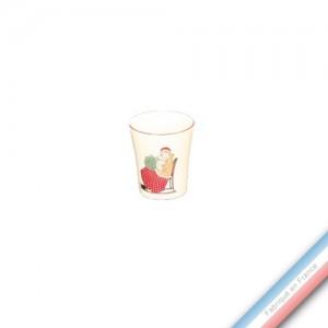 Collection JEUX D'HIVER - Coquetier - H 6 cm -  Lot de 4