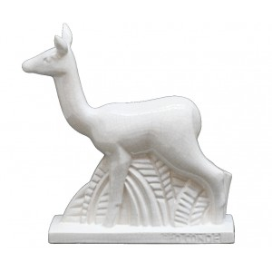 Collection IRRESISTIBLES - Chamois GEO CONDE - L 23 cm - H 24 cm  -  Lot de 1