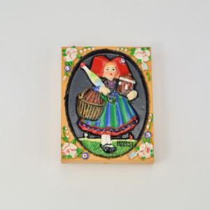 Magnet Alsace Hansi - Fritz Kobus