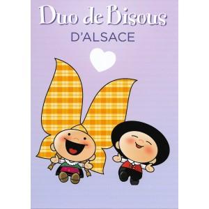 Carte de voeux Lovely Elsa - Duo de Bisous