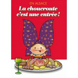 Carte de voeux Lovely Elsa - Choucroute