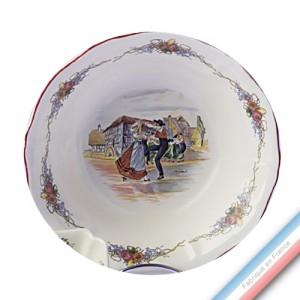 Collection OBERNAI  - Coupe à fruits ronde - Diam 27 cm -  Lot de 1