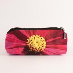 Trousse à crayons collection fleurs - Cosmo fuschia
