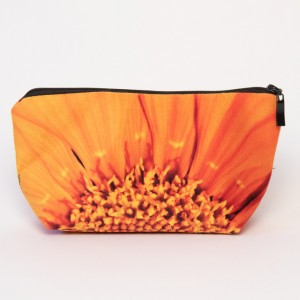 Trousse 3D collection fleurs - Coeur soucis orange