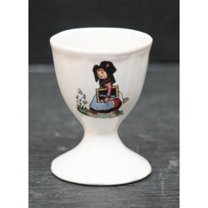 Collection Hansi - Coquetier sur pied - H 7 cm - Lot de 1