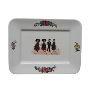 Collection Hansi - Plat rectangle - 37,5 cm x 28,5 cm -  Lot de 1