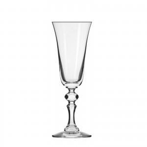 """6 Flûtes à champagne """"KRISTA"""" 15 cl - cristallin sans plomb"""