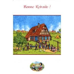 Carte de voeux Alsace Ratkoff - Bonne Retraite