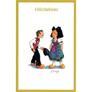 Carte de voeux Alsace Ratkoff - Félicitations