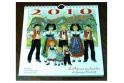 """Calendrier """"L'Alsace Enchantée 2010"""" de Ratkoff  (19,5cm x 20cm)"""